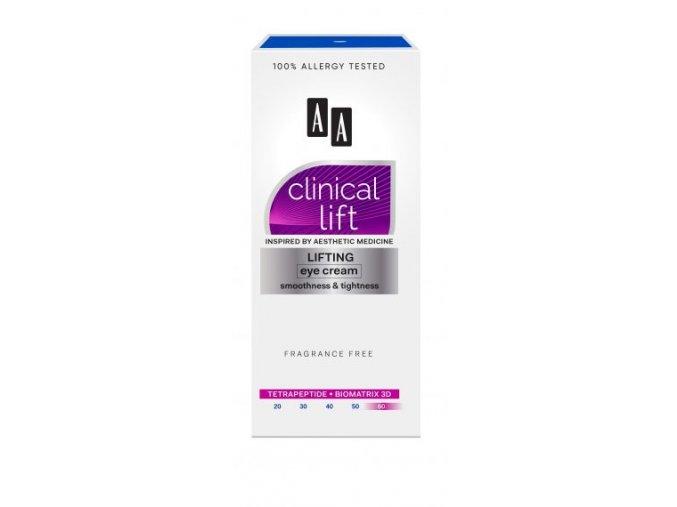 AA Clinical Lift 60 krem pod oczy kartonik 0 245x570