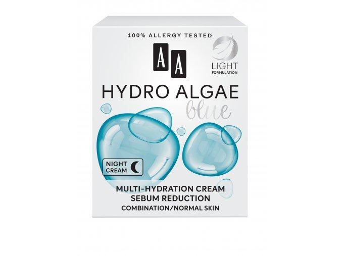 AA HYDRO ALGAE BLUE MULTI HYDRATION SEBUM REDUCTION kartonik