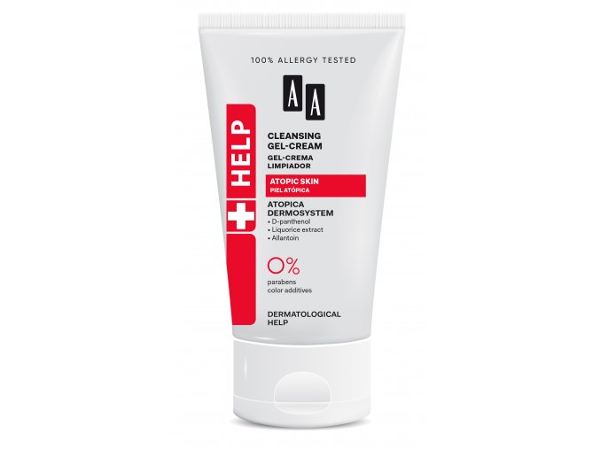 AA HELP ATOPIC Cleansing gel cream tuba150