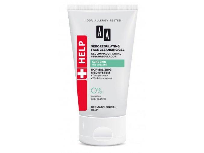 AA HELP ACNE Seboregulating Face Gel tuba150 326x570