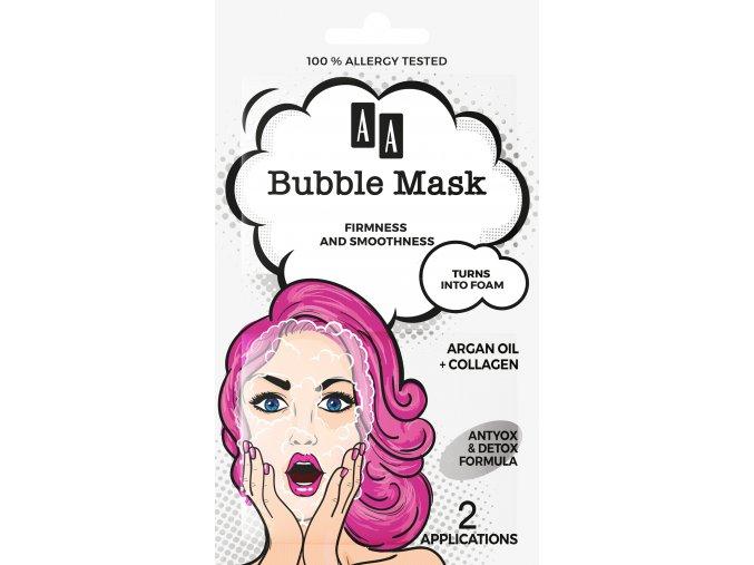 Oceanic AA bubble mask olejek arganowy front