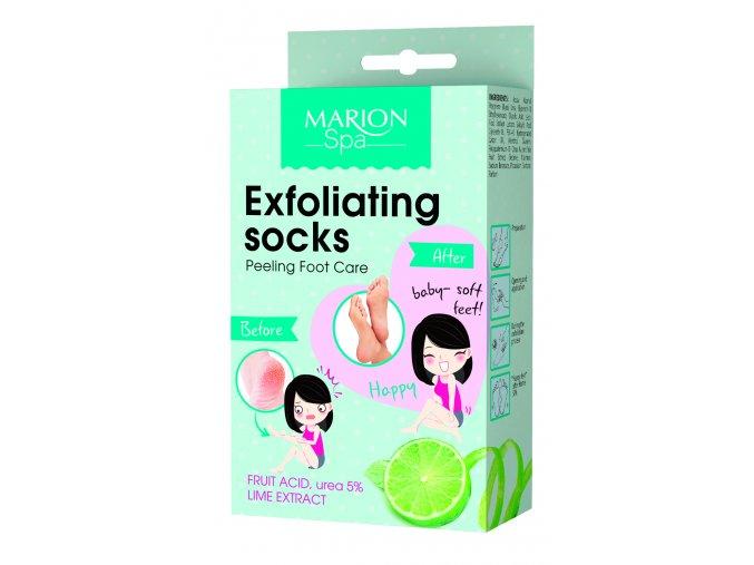 1114 Exfoliating socks new edition