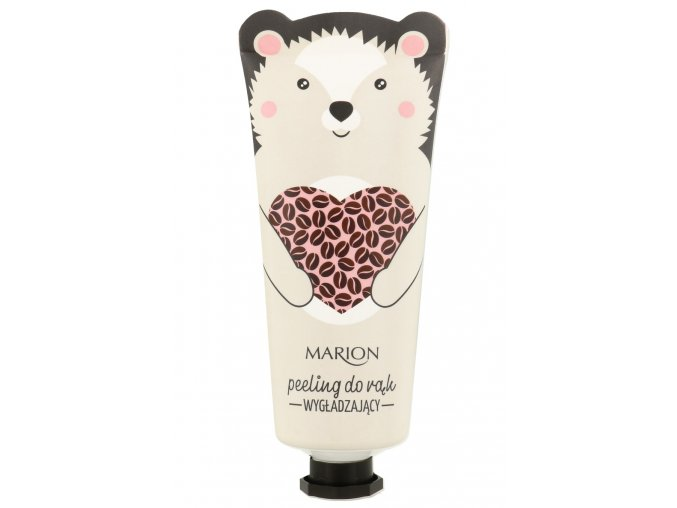 Marion Funny Animals Peeling Wygladzajacy Do Rak Kawa 50ml mini