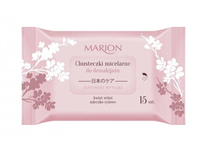 pol pl Marion Japonski Rytual Chusteczki micelarne do demakijazu 15 szt 337486 1