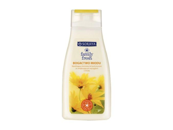 OS02111 7310614369602 Family Fresh Sprchový gel s medem 1000ml