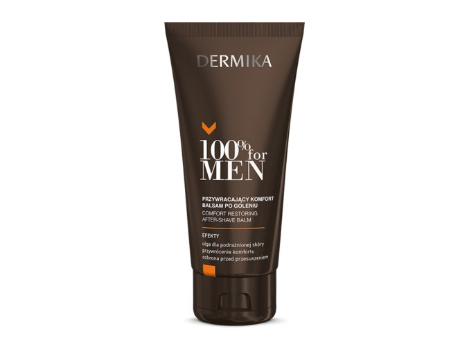 OD02001 100% For Men Zklidňující balzám po holení 100ml
