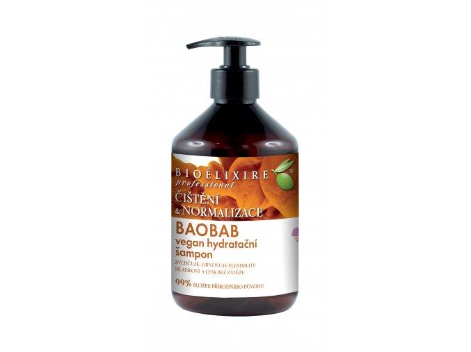 vegan baobab szampon 500 ml