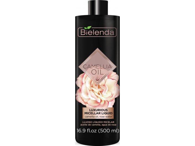 50576 CAMELLIA OIL Luxurious micellar liquid 500 ml (EXP ROSS) BOTTLE