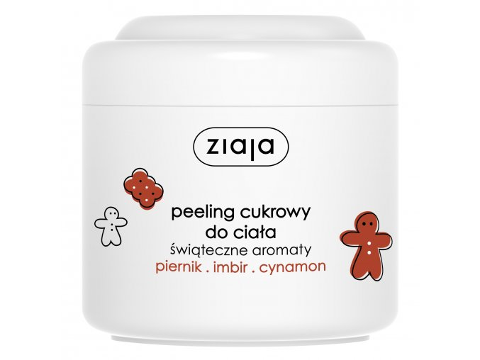 Ziaja Perník  cukrový peeling 200ml