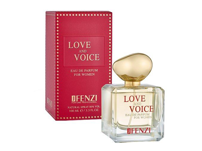 JFenzi love and voice  parfémovaná voda 100 ml