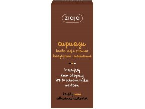 Ziaja Cupuacu vyživující  bronzující pleťový krém  na den SPF 10 50ml