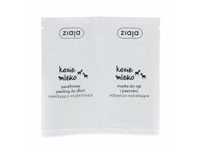 Ziaja Kozí mléko parafínový peeling & maska na ruce