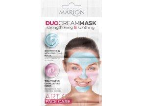 Marion DuoCreamMasks  Zklidňující A Hydratační Pleťová Maska 2x5 ml