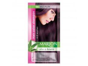 marion tónovací šampon 66 wild plun