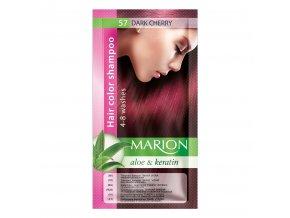 marion tónovací šampon 57 dark cherry