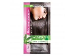 marion tónovací šampon 59 ebony black