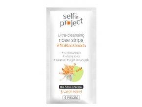 selfie project  ultračisticí pásky na nos noblackheads 4 spcs