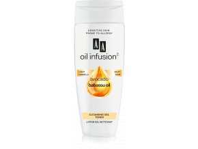 AA Oil Infusion cleansing gel toner