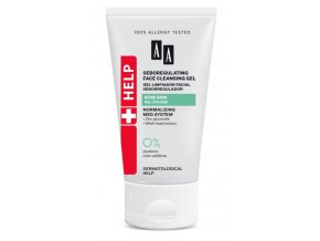 AA HELP ACNE Seboregulating Face Gel tuba150 326x570