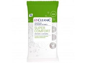 Cleanic Chusteczki do higieny intymnej Cleanic Super Comfort 10 szt 95191383 0 1000 1000