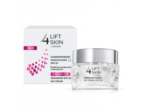 5900116051222 Lift4Skin ActiveGlycol Day Cream box jar FRONT