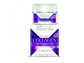 BIE 00809 cz Age Therapy Collagen face cream BOX 50+ karton i sloik copy