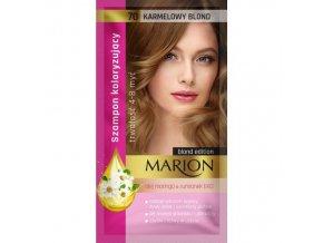 7741 marion szampon koloryzujący 4 8 myć nr 70 karmelowy blond 40ml