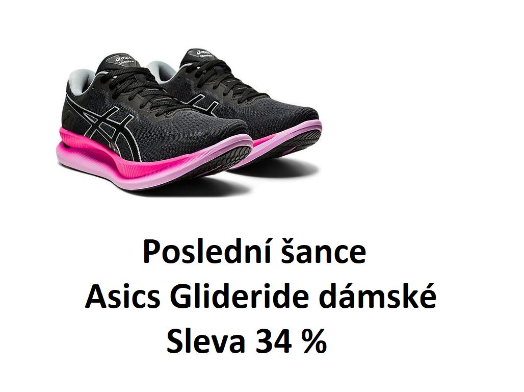 Běžecká obuv Asics Glideride dámská, sleva 34%!