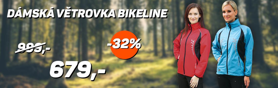Dámská větrovka Bikeline sleva 32%