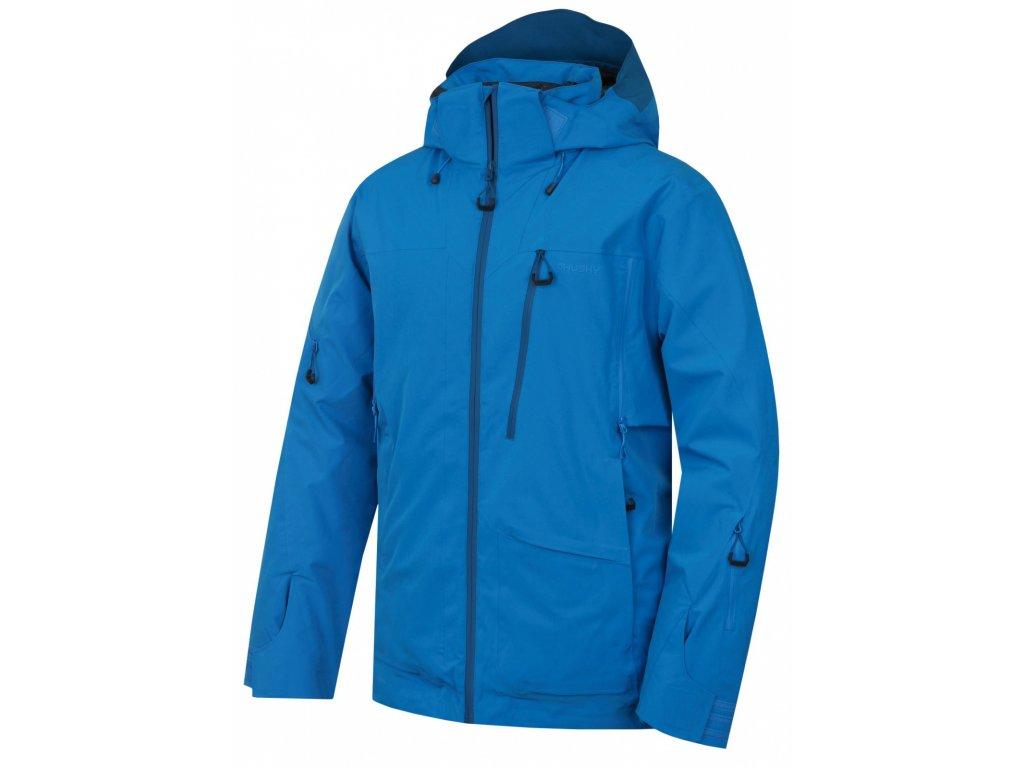 Pánská lyžařská bunda Montry M modrá  Dárek v hodnotě 199,- zdarma