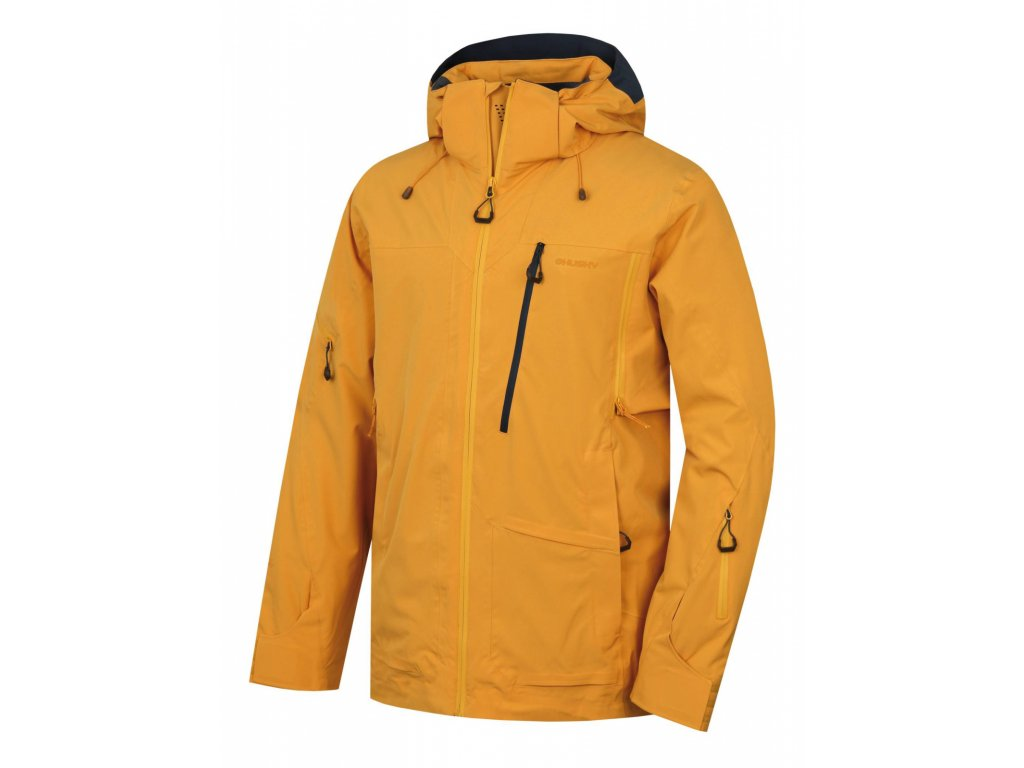 Pánská lyžařská bunda Montry M krémově žlutá  Dárek v hodnotě 199,- zdarma