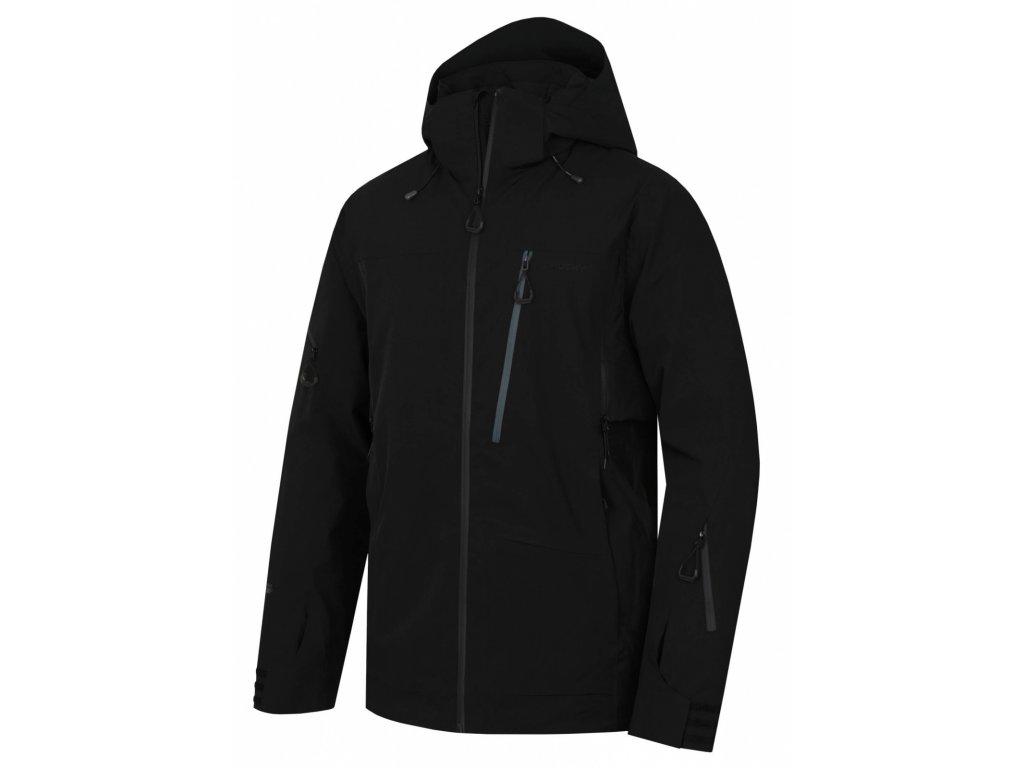 Pánská lyžařská bunda Montry M černá  Dárek v hodnotě 199,- zdarma