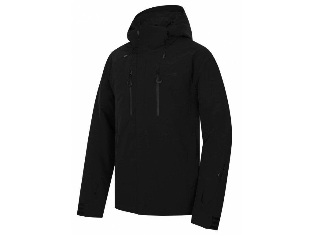 Pánská hardshell bunda Gonzal M černá  Dárek v hodnotě 199,- zdarma