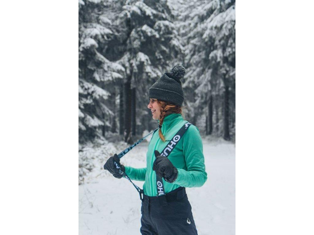 Dámské lyžařské kalhoty Gilep L černá  Dárek v hodnotě 199,- zdarma