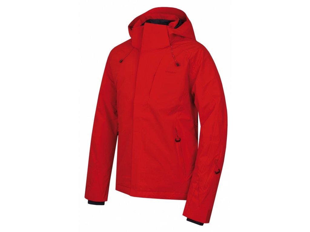 Pánská lyžařská bunda Nopi M červená  Dárek v hodnotě 199,- zdarma