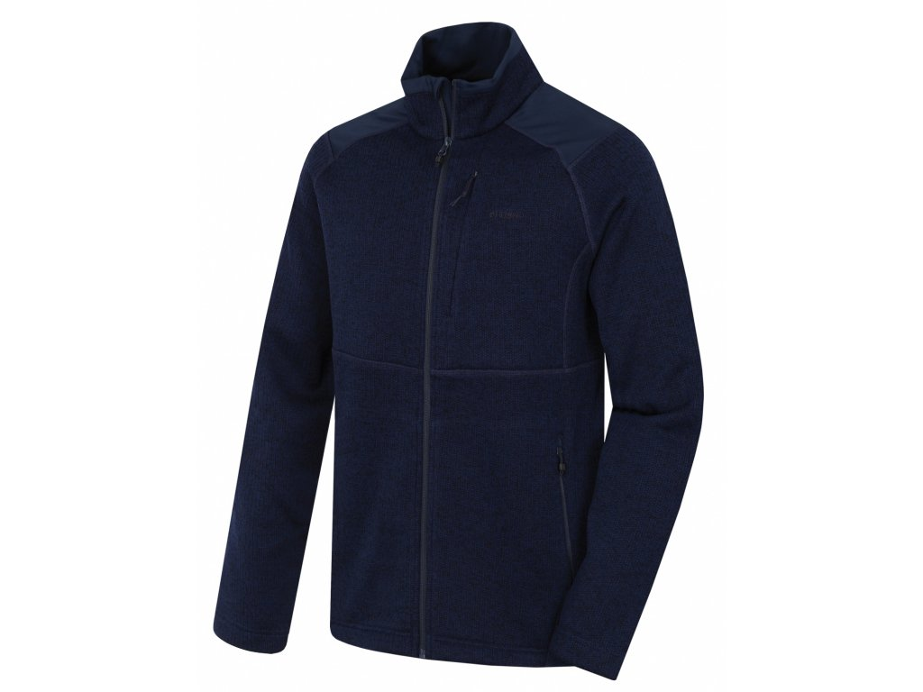 Pánský fleecový svetr Alan M námořnická