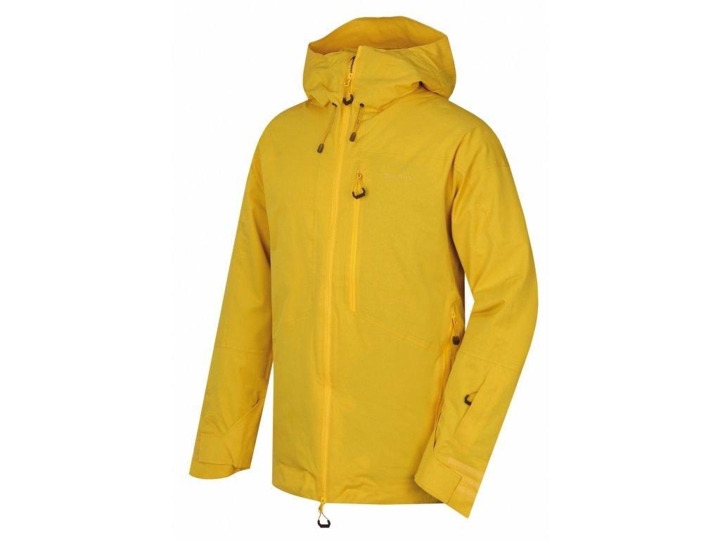 Pánská lyžařská bunda Gomez M žlutá  Dárek v hodnotě 199,- zdarma