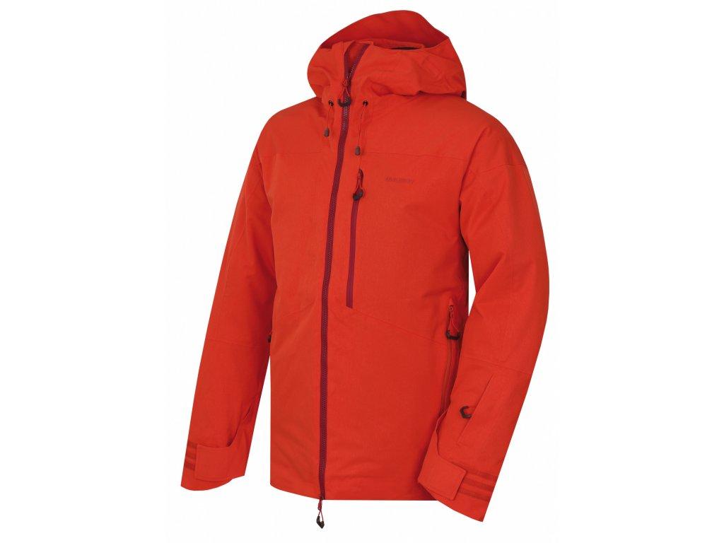 Pánská lyžařská bunda Gomez M cihlová  Dárek v hodnotě 199,- zdarma