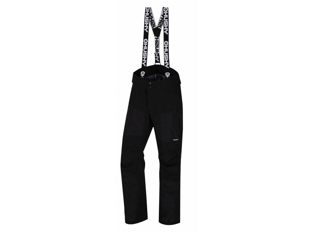 Pánské hardshell kalhoty Komly M černá  Dárek v hodnotě 199,- zdarma