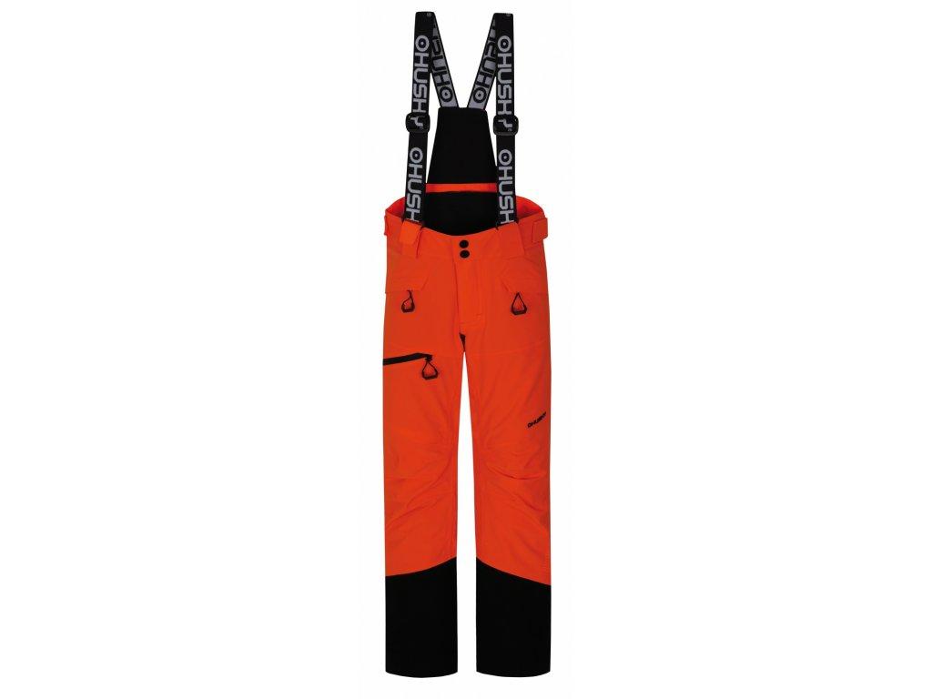 Dětské lyžařské kalhoty Gilep Kids neonově oranžová  Dárek v hodnotě 199,- zdarma