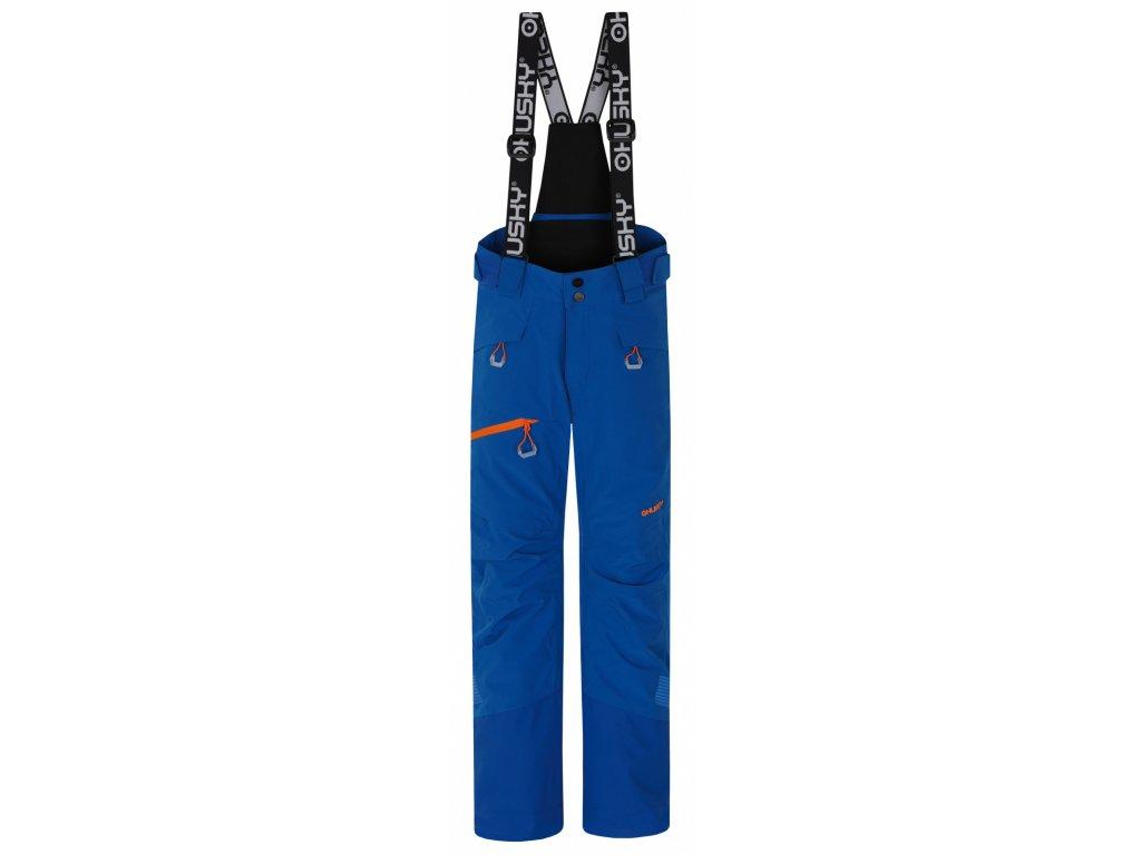 Dětské lyžařské kalhoty Gilep Kids modrá  Dárek v hodnotě 199,- zdarma