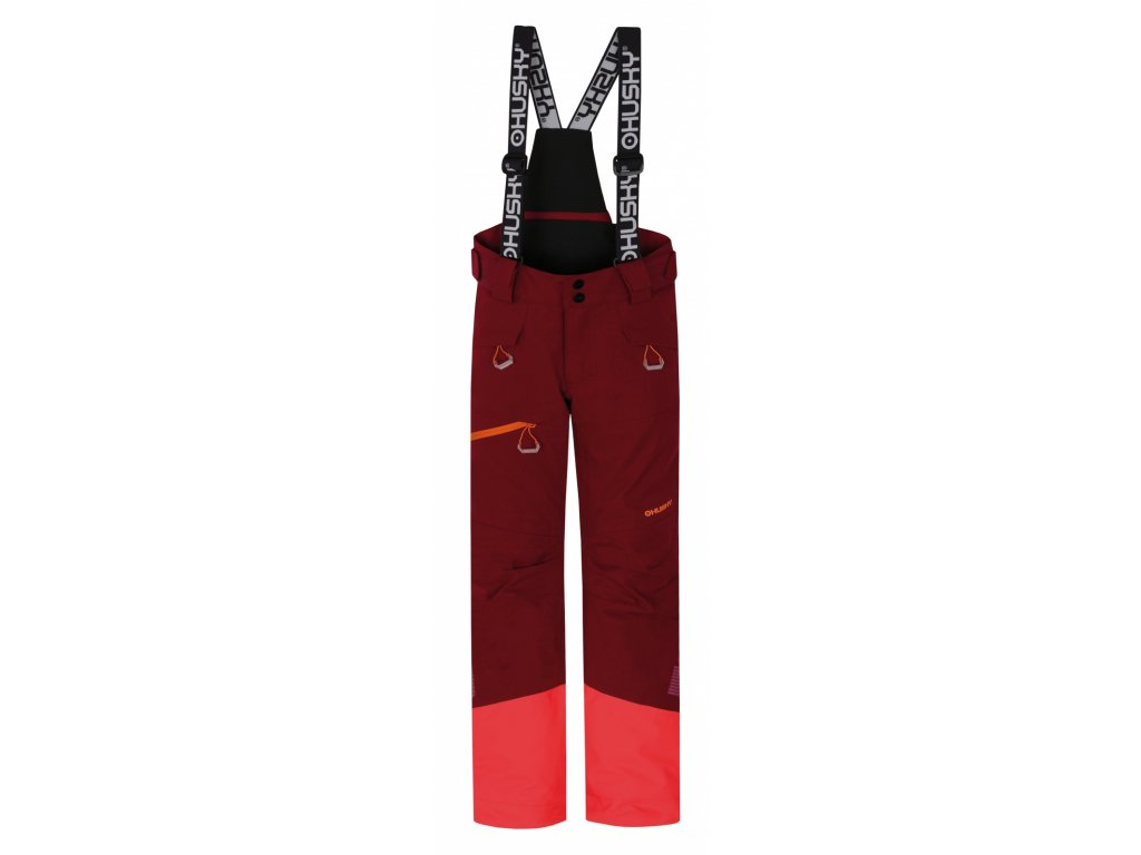 Dětské lyžařské kalhoty Gilep Kids purpurová  Dárek v hodnotě 199,- zdarma