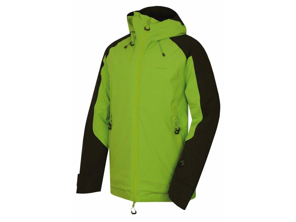 Pánská lyžařská bunda Gambola M zelená  Dárek v hodnotě 199,- zdarma