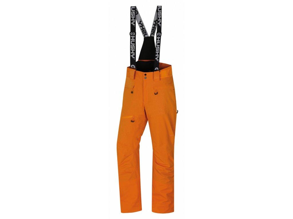 Pánské lyžařské kalhoty Gilep M oranžová  Dárek v hodnotě 199,- zdarma