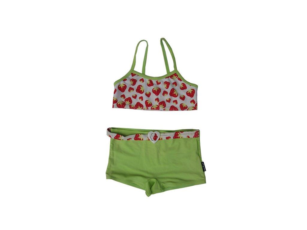 Plavky Elemar dívčí - jahůdky