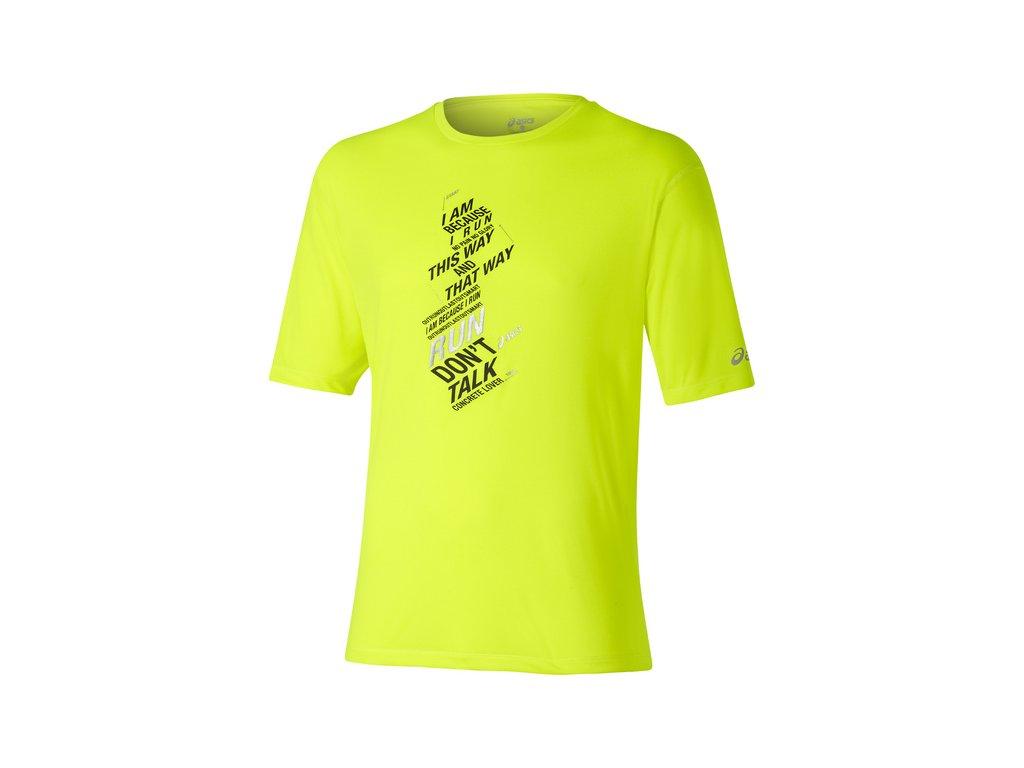 ASICS SS Graphic Top pánské běžecké triko