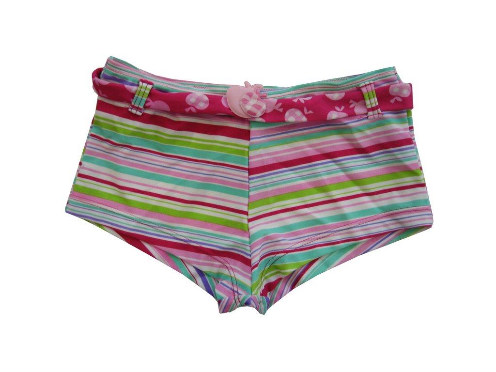 Plavky Elemar dívčí - proužky