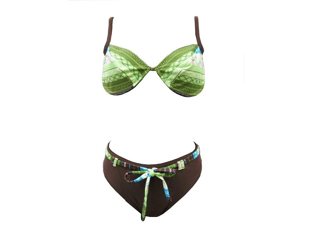 Plavky Elemar dámské zelené