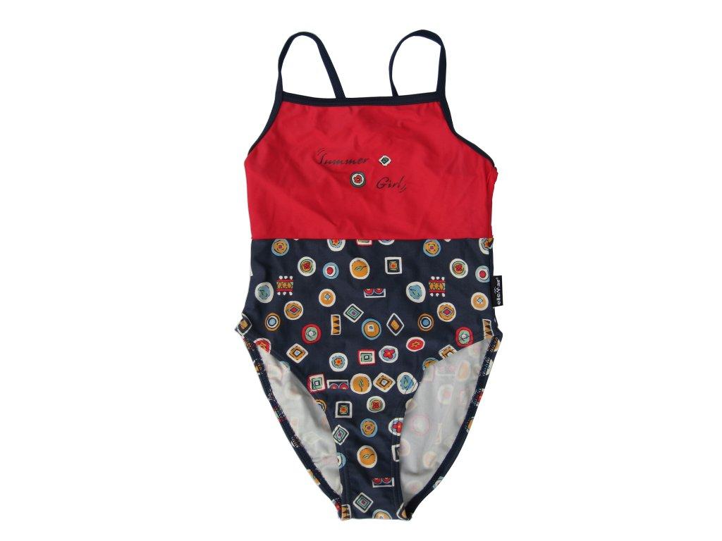 Plavky Elemar dívčí summer