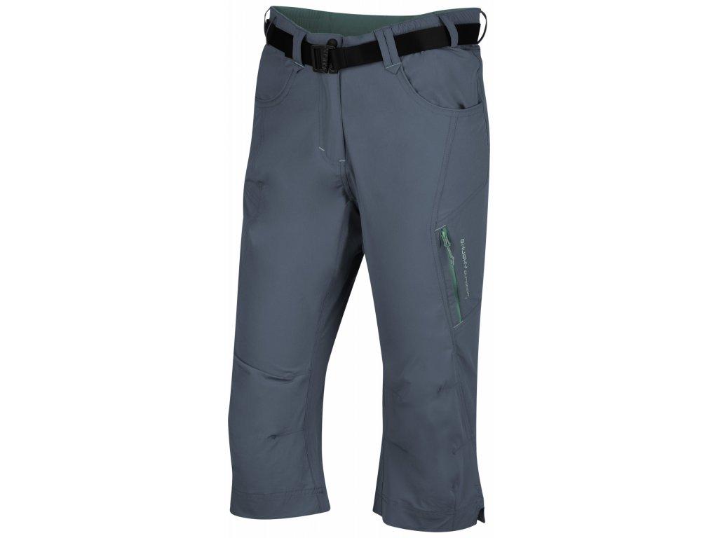 Dámské 3/4 kalhoty Klery L tm. šedá